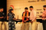 prize being accepted by Centre Director from Mr, K P Singh, founder at RGCSM